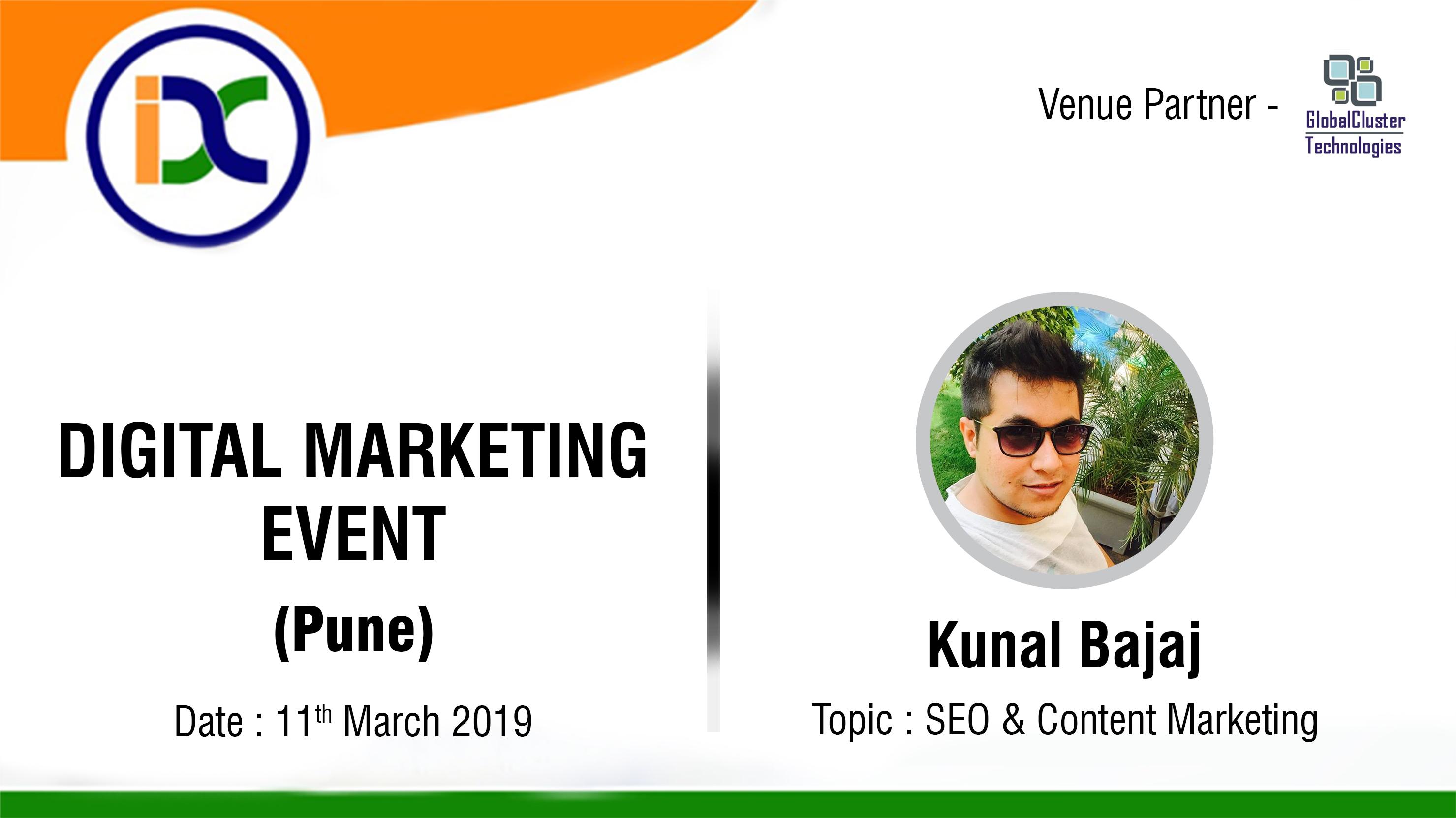 2nd Digital Marketing Meetup in pune with Kunal Bajaj