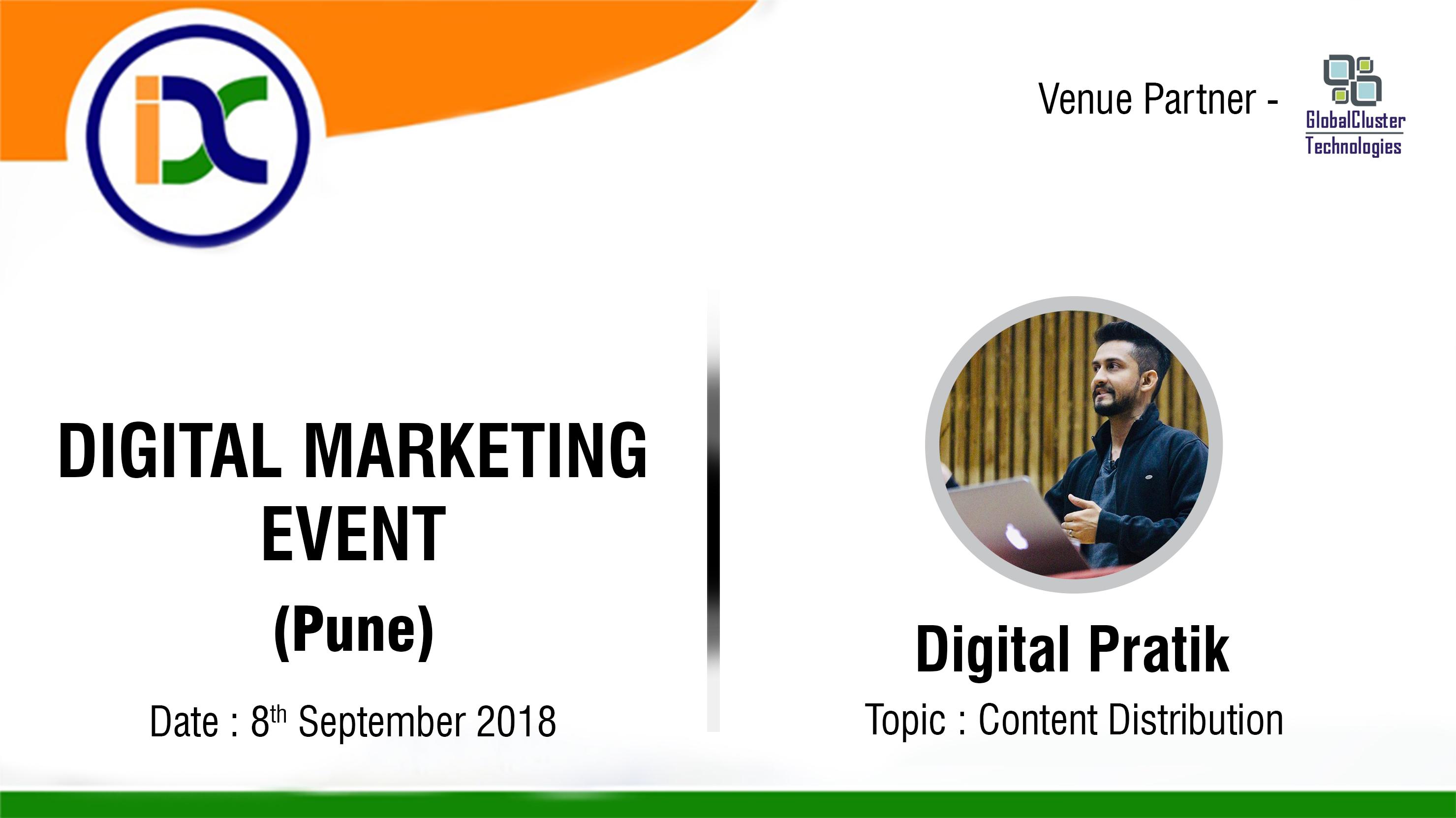 Digital Marketing Event with Digital Pratik