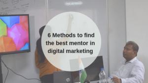 Mentor in Digital marketing